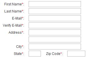 listing a u s state in a drop down address menu could get you